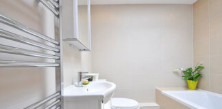 Elektryczny podgrzewacz wody do łazienki